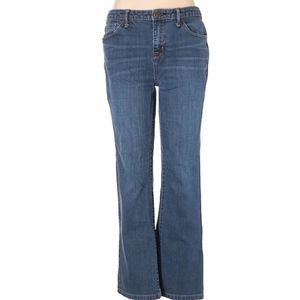 Mossimo 8 short curvy bootcut denim jeans